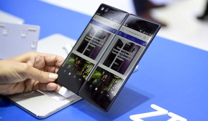 Huawei ecran pliable