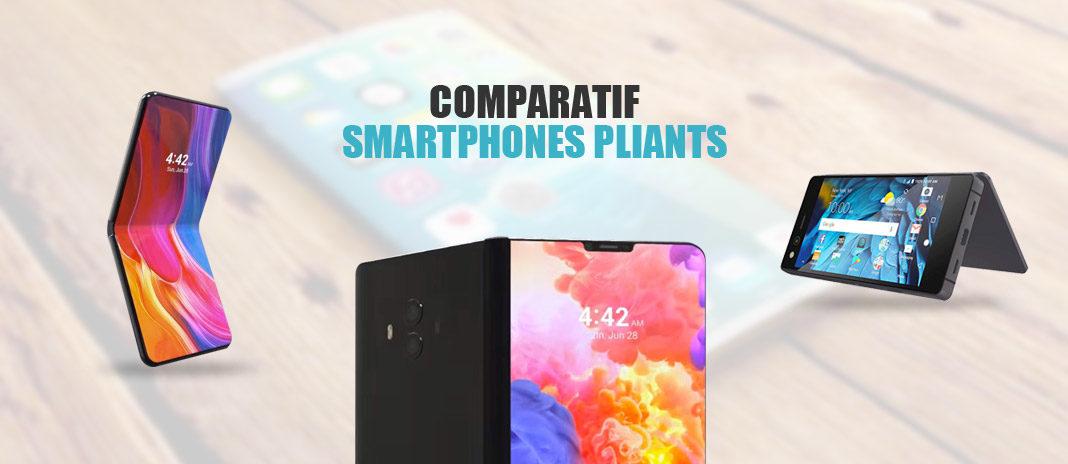 Comparatif smartphones pliables attendus 2019