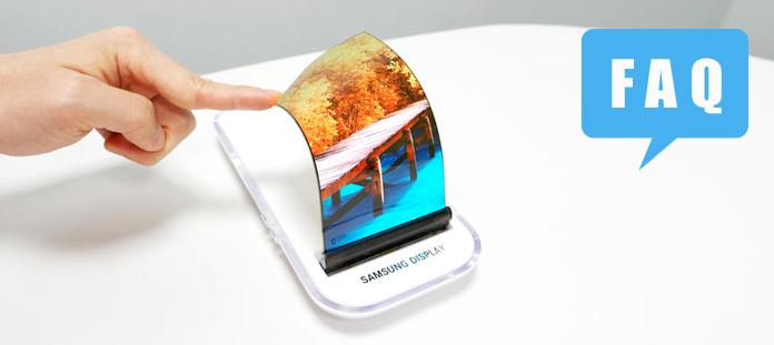 faq smartphones pliables