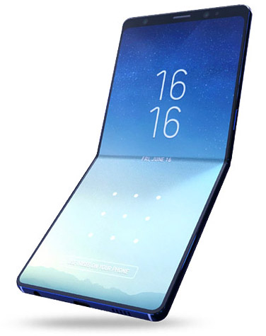 Samsung Galaxy F pliable