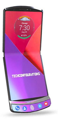 Motorola Razr pliable