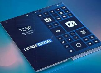 Smartphone Intel pliant
