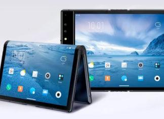 Smartphone Royole pliable