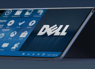 Dell smartphone pliant