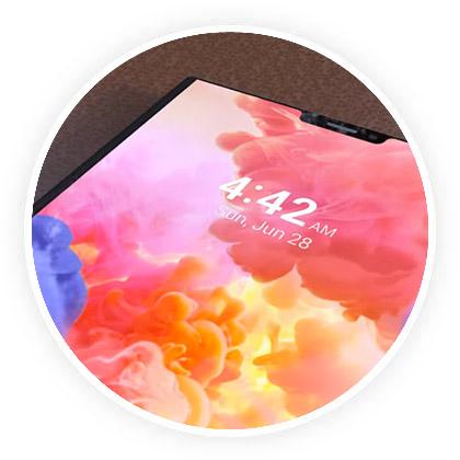 Ecran Huawei Pliable