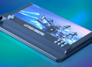 smartphone pliable gaming samsung