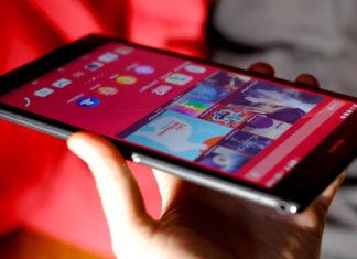 Smartphone Sony Grand Ecran