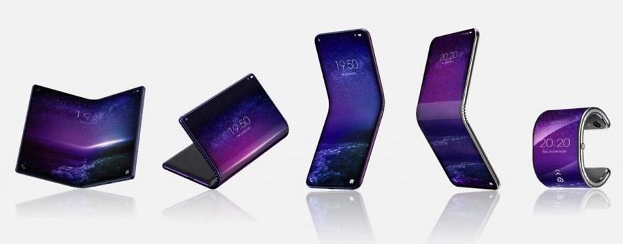 smartphones pliables TCL