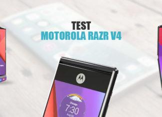 Test Motorola RAZR v4